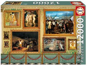 Educa puzzle 12000 dílků - Muzeum  17137