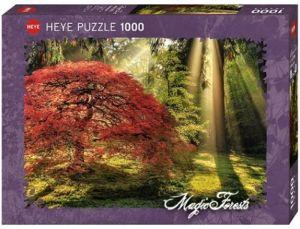 Heye - puzzle 1000 dílků - Les při západu slunce 29855