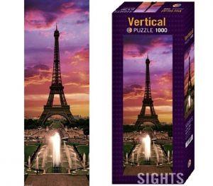 Heye - puzzle 1000 dílků panorama  - Noční Paříž  29551
