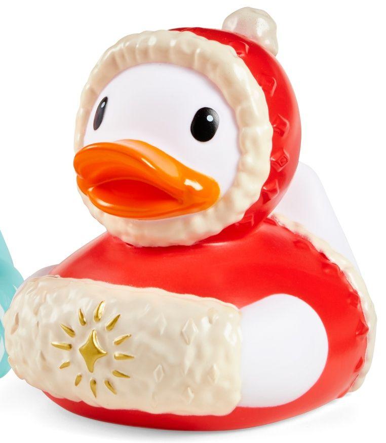 Infantino - sváteční kachnička do vany - červená