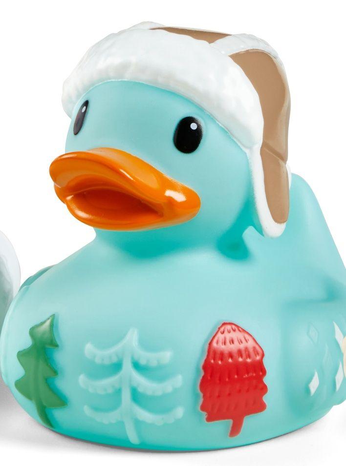 Infantino - sváteční kachnička do vany - modrá