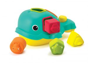 Infantino -  vkládačka  tvary - Sorter  velryba