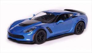 Maisto  1:24  2015 Corvette Z06  31133 - modrá  barva