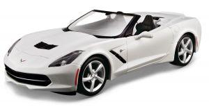 Maisto  1:24 Kit Chevrolet Corvette - bílá  barva