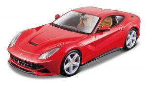 Maisto  1:24 Kit FERRARI  - F12 Berlinetta  - model  ke skládání  - červená  barva