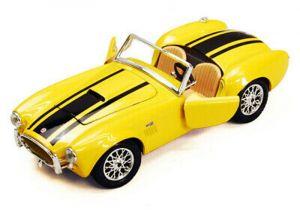 Maisto  1:24 Shelby Cobra 427  1956  -  žlutá  barva