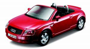 Maisto 21001 auto Audi TT Roadster  -  červená  barva