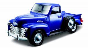 Maisto 21001 auto Chevroler Pickup 1953 - modrá  barva