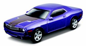 Maisto 21001 auto Dodge Challenger Concept 2006 - fialová  barva