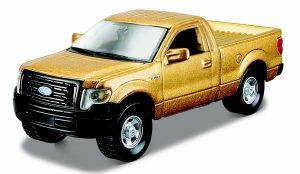 Maisto 21001 auto Ford F-150 XL - zlatá  barva