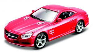 Maisto 21001 auto Mercedes Benz SL 500 -  červená  barva