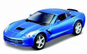 Maisto 21001 auto Stingray 2014 - modrá  barva