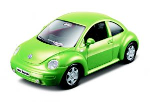 Maisto 21001 auto Volkswagen New Beetle - zelená   barva