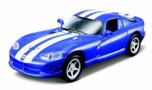 Maisto 21001  auto Dodge Viper GTS - modrá barva