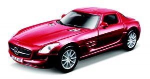 Maisto 21001 auto Mercedes Benz SLS AMG - červená barva