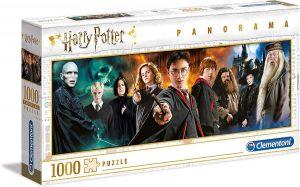 Puzzle Clementoni 1000 dílků panorama -  Harry Potter  61883