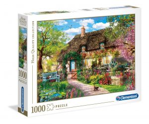 Puzzle Clementoni 1000 dílků  - Stará chalupa   39520