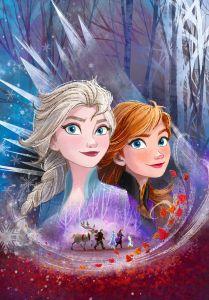 Puzzle Clementoni  - 104 dílků  - Frozen II    27154