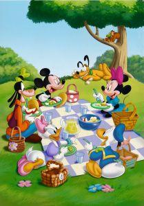 Puzzle Clementoni  - 104 dílků  - Mickey Mouse   27153