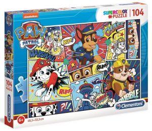 Puzzle Clementoni  - 104 dílků   Paw Patrol  27261