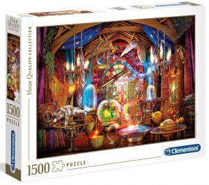 Puzzle Clementoni 1500 dílků  - Kouzelnický obchod  31813