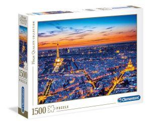 Puzzle Clementoni 1500 dílků  - Pohled na Paříž  31815