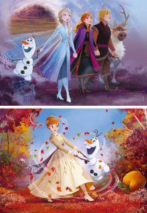 Puzzle Clementoni  2x20 dílků  -  Frozen II  24773