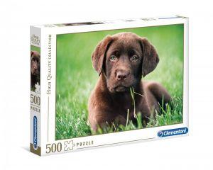 Puzzle Clementoni 500 dílků  - Štěně  35072
