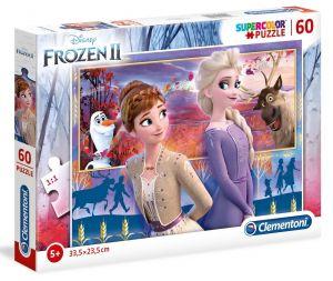 Puzzle Clementoni  60 dílků  Frozen II   26056