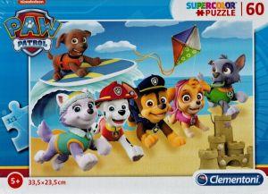 Puzzle Clementoni  60 dílků  Paw Patrol - Tlapková patrola  26091