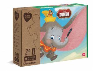 Puzzle Clementoni MAXI - 24 dílků - Dumbo 20261