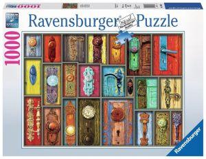 Puzzle Ravensburger 1000 dílků - Antické kliky  198635
