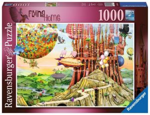 puzzle Ravensburger 1000 dílků - Colin Thompson - Flying Home  196524