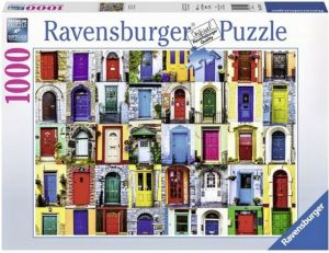 puzzle Ravensburger 1000 dílků - Dveře do světa  195244