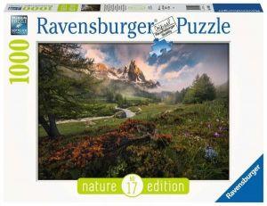 puzzle Ravensburger 1000 dílků - Francouzské  Alpy  159932
