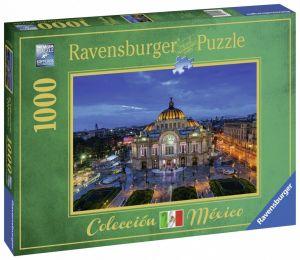 puzzle Ravensburger 1000 dílků - Kulturní centrum v Mexiku  198429