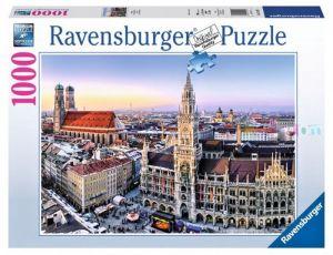 puzzle Ravensburger 1000 dílků -  Mnichov  194261