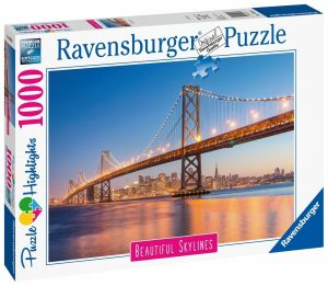 puzzle Ravensburger 1000 dílků - Most , San Francisco 140831