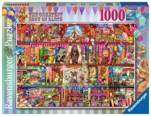 puzzle Ravensburger 1000 dílků - Největší show na zemi  152544