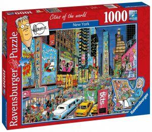 puzzle Ravensburger 1000 dílků - New York   197323