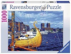 puzzle Ravensburger 1000 dílků - Oslo   197149