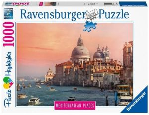 Puzzle Ravensburger 1000 dílků - Středozemní  Itálie  149766
