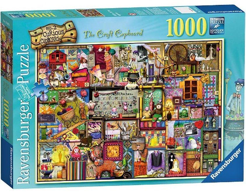 puzzle Ravensburger 1000 dílků - Unikátní kredenc 194124