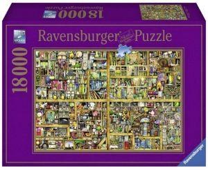 puzzle Ravensburger 18000 dílků - Kouzelná knihovna  178254