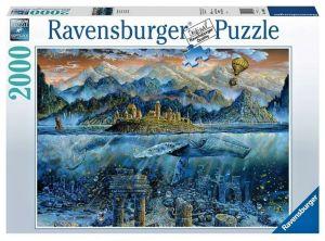 puzzle Ravensburger  2000 dílků Moudrá velryba  164646