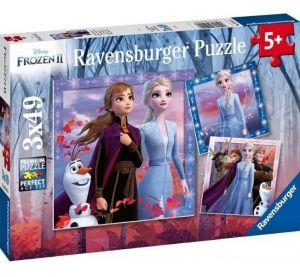 Puzzle Ravensburger  3 x 49 dílků  - Frozen II  050116