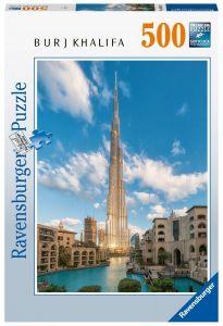 puzzle Ravensburger  500 dílků - Burj Khalifa  164684