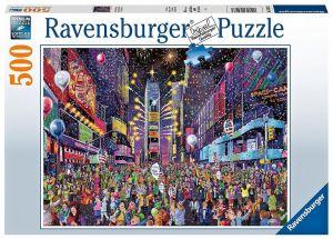 puzzle Ravensburger  500 dílků - Nový rok na Times Square   164233