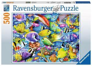 puzzle Ravensburger  500 dílků - Tropický podvodní život  147960