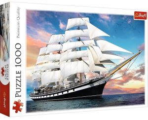 Puzzle Trefl  1000 dílků  - Plachetnice   10604
